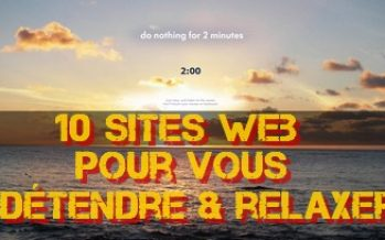 Faites une pause: 10 sites Web pour vous aidez à vous détendre pendant quelques minutes
