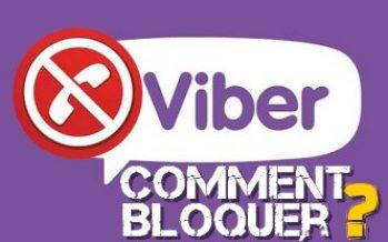 Comment faire pour bloquer un numéro ou un contacte sur Viber Android