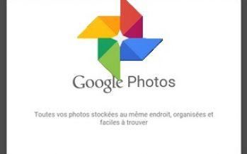 Goole a lancé une nouvelle application appelée Google Photos