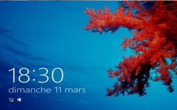 Comment supprimer l'écran verrouillage sur Windows8