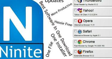 Installer plusieurs logiciels en même temps