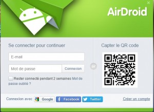 airdroid authentification