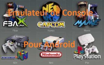 Emulateurs de consoles pour Android