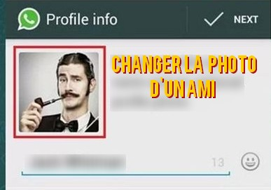 Comment Changer la photo de profil d'un ami sur Whatsapp