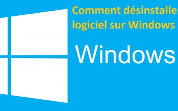 Comment désinstaller un logiciel sur Windows 10 ?