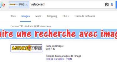Comment faire une recherche sur Google avec une photo