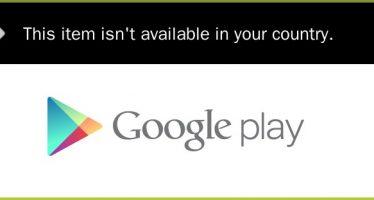Solution : Cet article n'est pas disponible dans votre pays dans Google Playstore