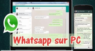 WhatsApp est désormais sur PC et Mac !