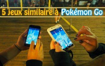 Découvrez 5 Jeux similaire à Pokémon Go