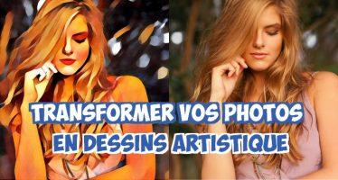 Transformer vos photos en dessins artistique avec Prisma