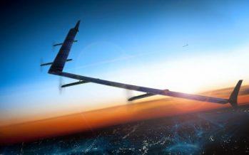 Regardez en Vidéo le premier vol du Drone Facebook pour connecter des milliards de personnes à l'Internet