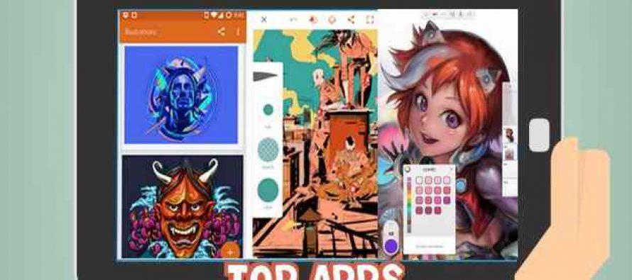 5 meilleures applications Android Gratuite pour dessin, croquis et peinture