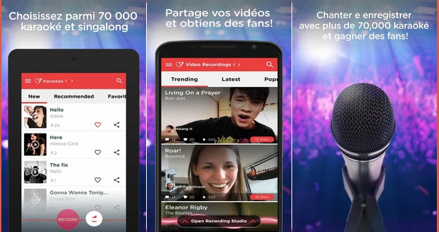 application pour chanter android