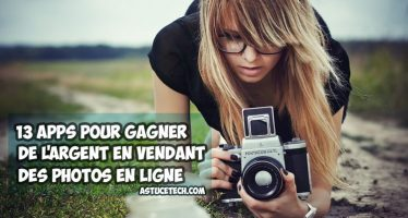13 Meilleures applications pour gagner de l'argent en vendant des photos en ligne