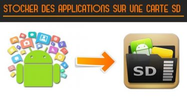 Comment stocker des applications sur une carte SD