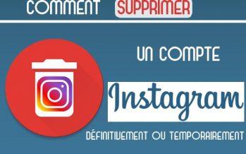 Comment supprimer votre compte Instagram
