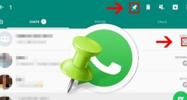 WhatsApp beta vous permet de placer les personnes en haut de votre liste de chat