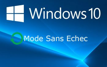 Comment démarrer Windows 10 en mode sans échec