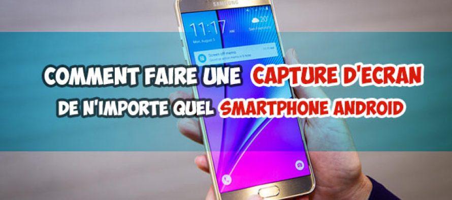 Comment capturer l'écran de n'importe quel téléphone smartphone Android [Plusieurs méthodes]