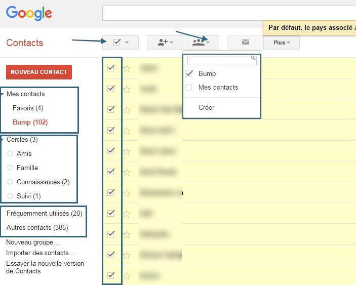 comment importer et exporter des contacts entre gmail et