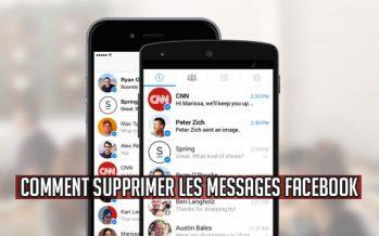 Comment supprimer les messages Facebook étape par étape