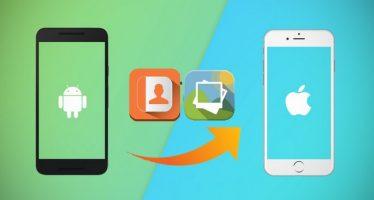 Comment transférer des contacts, photos, vidéos, de la musique et des applications depuis Android vers iPhone
