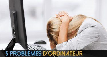 Qu'est-il arrivé à mon PC? 5 problèmes d'ordinateur communs que vous pouvez résoudre sans aide