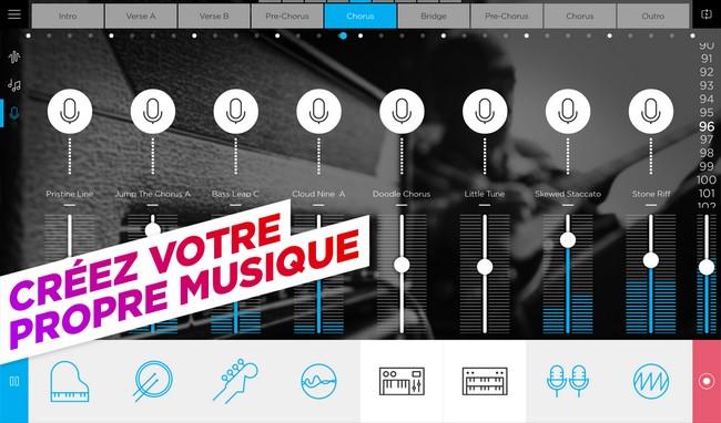application music gratuite pour android