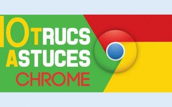 10 trucs et astuces cachés de Google Chrome