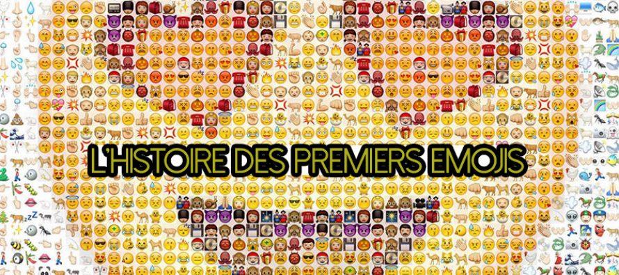 Découvrez l'histoire derrière la naissance des premiers emojis