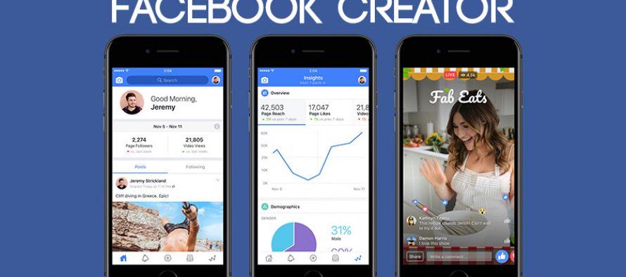 La nouvelle application de Facebook destinée aux créateurs de vidéos