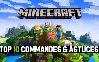 Top 10 des meilleures commandes et astuces du jeu Minecraft