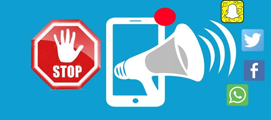 Comment désactiver les notifications Android pour différents réseaux sociaux