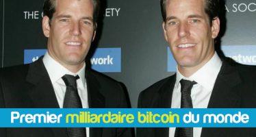 Les jumeaux Winklevoss qui ont poursuivi Mark Zuckerberg deviennent les premiers milliardaires de Bitcoin du monde
