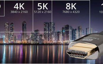 BONNES NOUVELLES! HDMI 2.1 officiellement lancé, prend en charge jusqu'à 10K de résolution