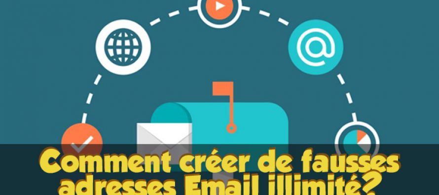 Comment créer de fausses adresses email jetables illimité?