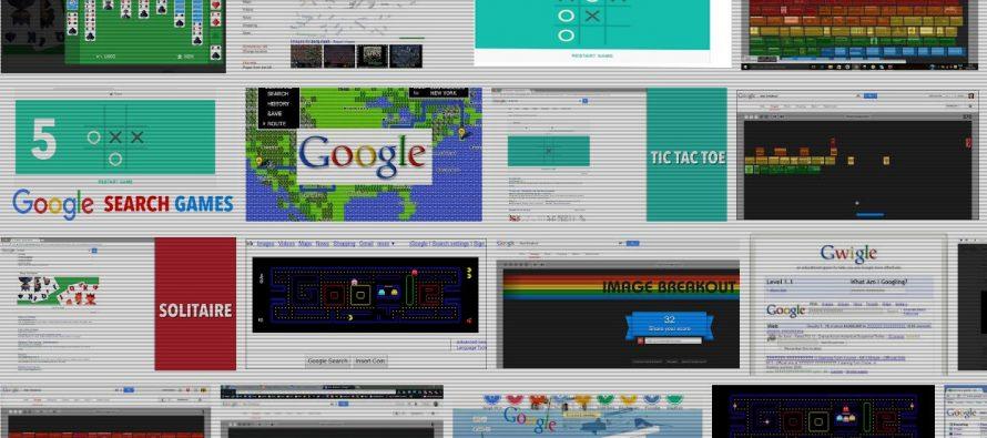 Jeux Google cachés à jouer quand vous vous ennuyez