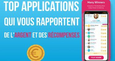 10 applications qui vous rapportent de l'argent et des récompenses