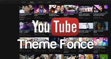 Comment activer YouTube Thèmes Foncé dans Chrome, Firefox et Safari