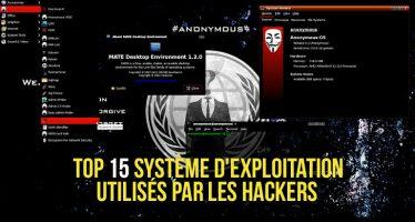 Le top 15 des meilleurs système d'exploitation utilisés par les Hackers