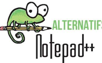 Meilleurs alternatives à NotePad++
