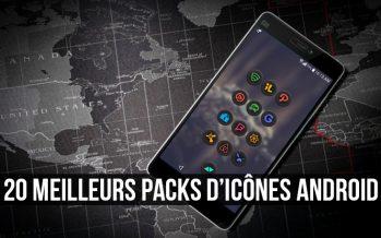 20 meilleurs packs d'icônes gratuits pour personnaliser l'apparence de votre appareil Android