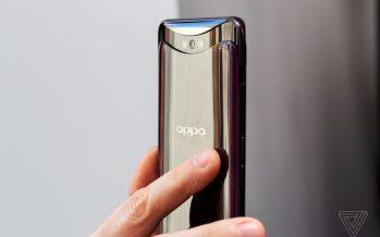 Oppo Find X n'a pas de cran, des lunettes minces et une caméra pop-up