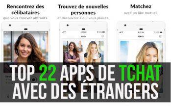Top 22 des meilleures applications de chat en ligne Android et iOS avec des étrangers