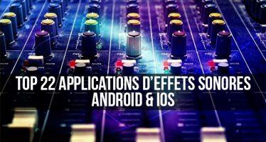 Top 22 des meilleures applications d'effets sonores pour Android et iOS