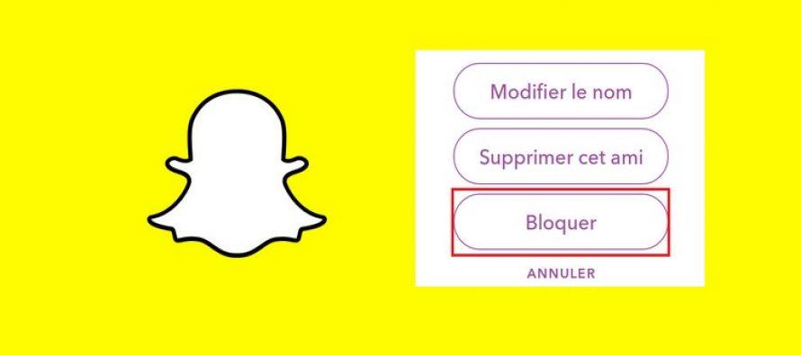 Comment bloquer les gens sur Snapchat