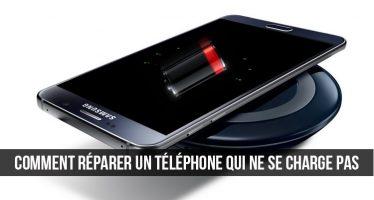 Comment réparer un téléphone qui ne se charge pas correctement