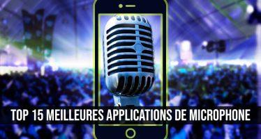 Top 15 des meilleures applications de microphone pour Android et iOS