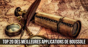 Top 20 des meilleures applications de boussole pour Android et iOS