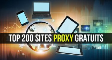 Top 200 Sites Proxy gratuits – Liste des meilleurs serveurs proxy gratuits 2018